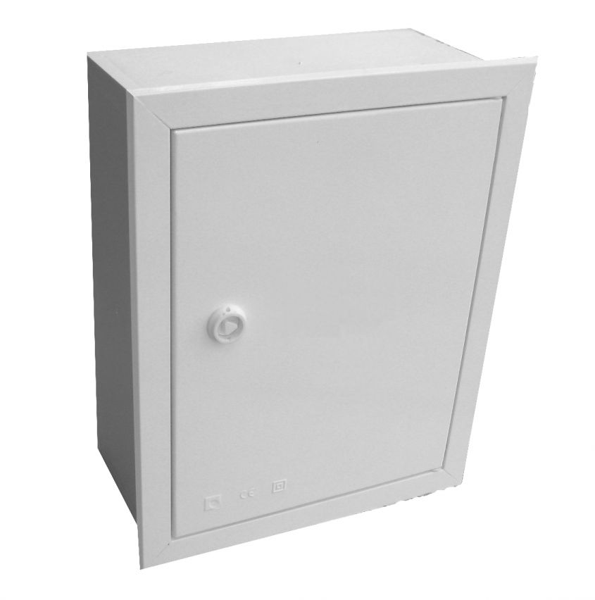 EMPTY BUILT-IN VISBOX BOX WITH DOOR AND FRAME 250X320X130