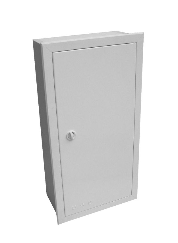 EMPTY BUILT-IN VISBOX BOX WITH DOOR AND FRAME 250X400X200