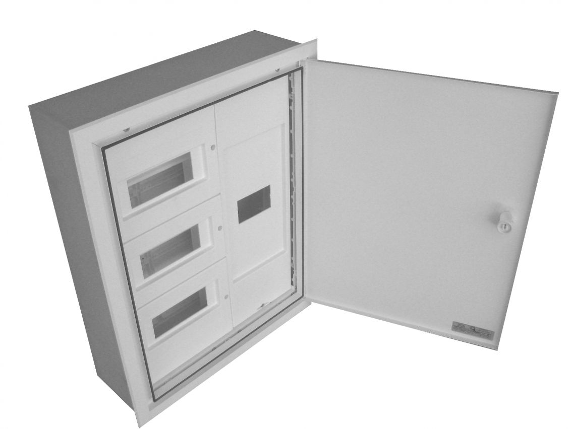 BUILT-IN DISTRIBUTION BOX AND DIFFERENTIAL 24 MODULES