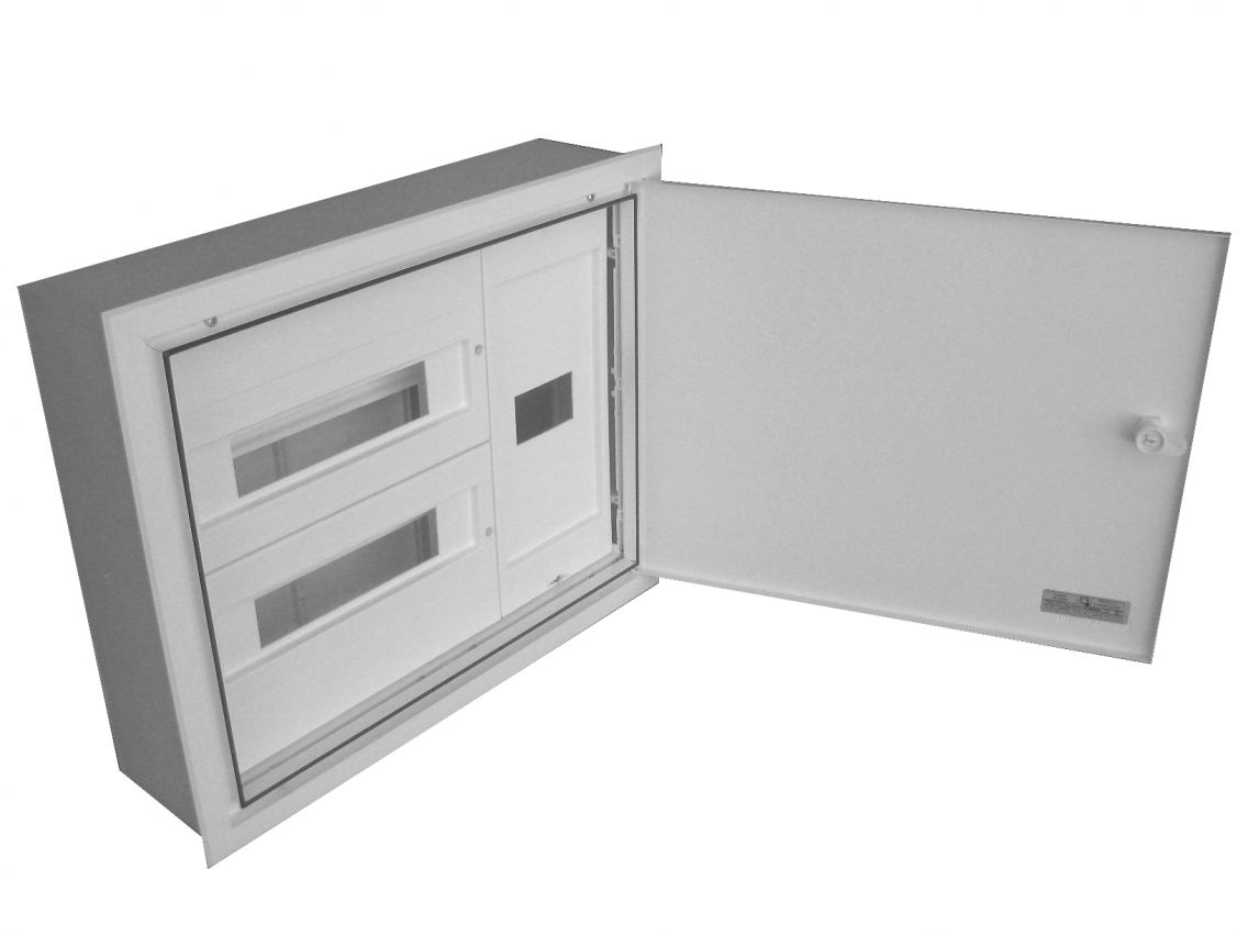 BUILT-IN DISTRIBUTION BOX AND DIFFERENTIAL 28 MODULES