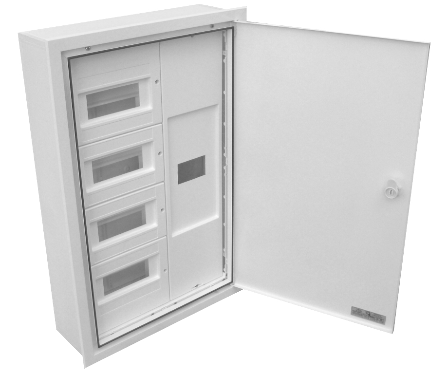 BUILT-IN DISTRIBUTION BOX AND DIFFERENTIAL 32 MODULES