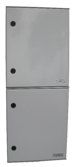ELECTRIFIED COLUMN BOARDS WITH ONE THREE-PHASE OUTPUT WITH BARS FOR CURRENT TRANSFORMER WITH MAIN SWITCH 125 AMPS