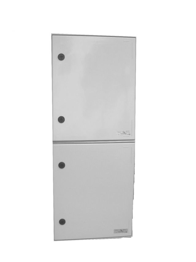 ELECTRIFIED COLUMN BOARDS WITH TWO THREE-PHASE OUTPUT WITH MAIN SWITCH 125 AMPS