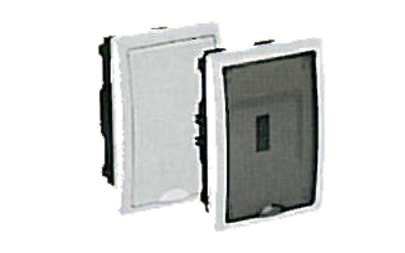 BUILT-IN DISTRIBUTION BOX 4 MÓD. WITH TRANSPARENT DOOR