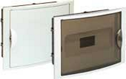 BUILT-IN DISTRIBUTION BOX 12 MÓD. WITH OPAQUE DOOR
