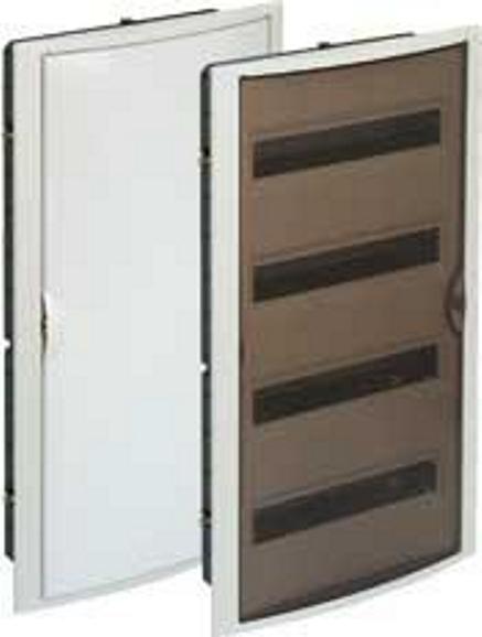 BUILT-IN DISTRIBUTION BOX 54 MÓD. WITH OPAQUE DOOR
