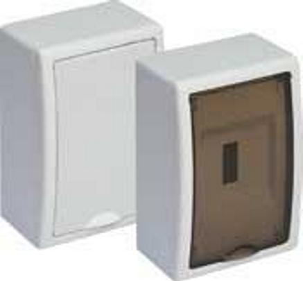 EXTERNAL DISTRIBUTION BOX 4 MOD. WITH TRANSPARENT DOOR