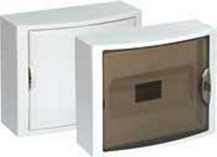 EXTERNAL DISTRIBUTION BOX 12 MOD. WITH TRANSPARENT DOOR