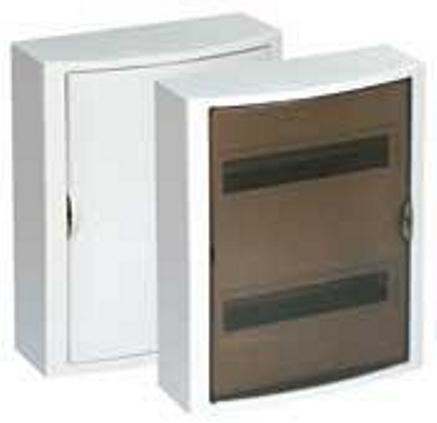 EXTERNAL DISTRIBUTION BOX 24 MOD. WITH OPAQUE DOOR