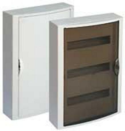 EXTERNAL DISTRIBUTION BOX 36 MOD. WITH TRANSPARENT DOOR