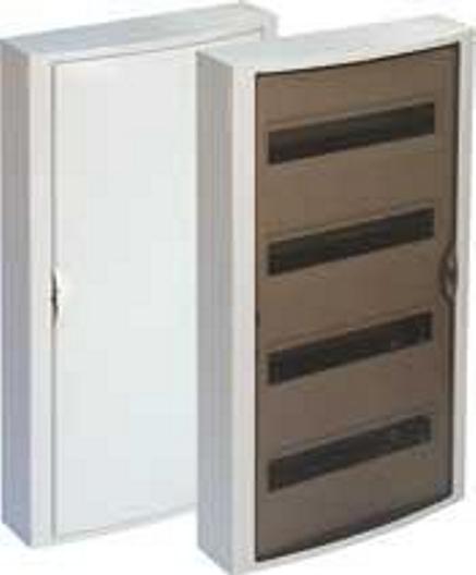 EXTERNAL DISTRIBUTION BOX 54 MOD. WITH TRANSPARENT DOOR