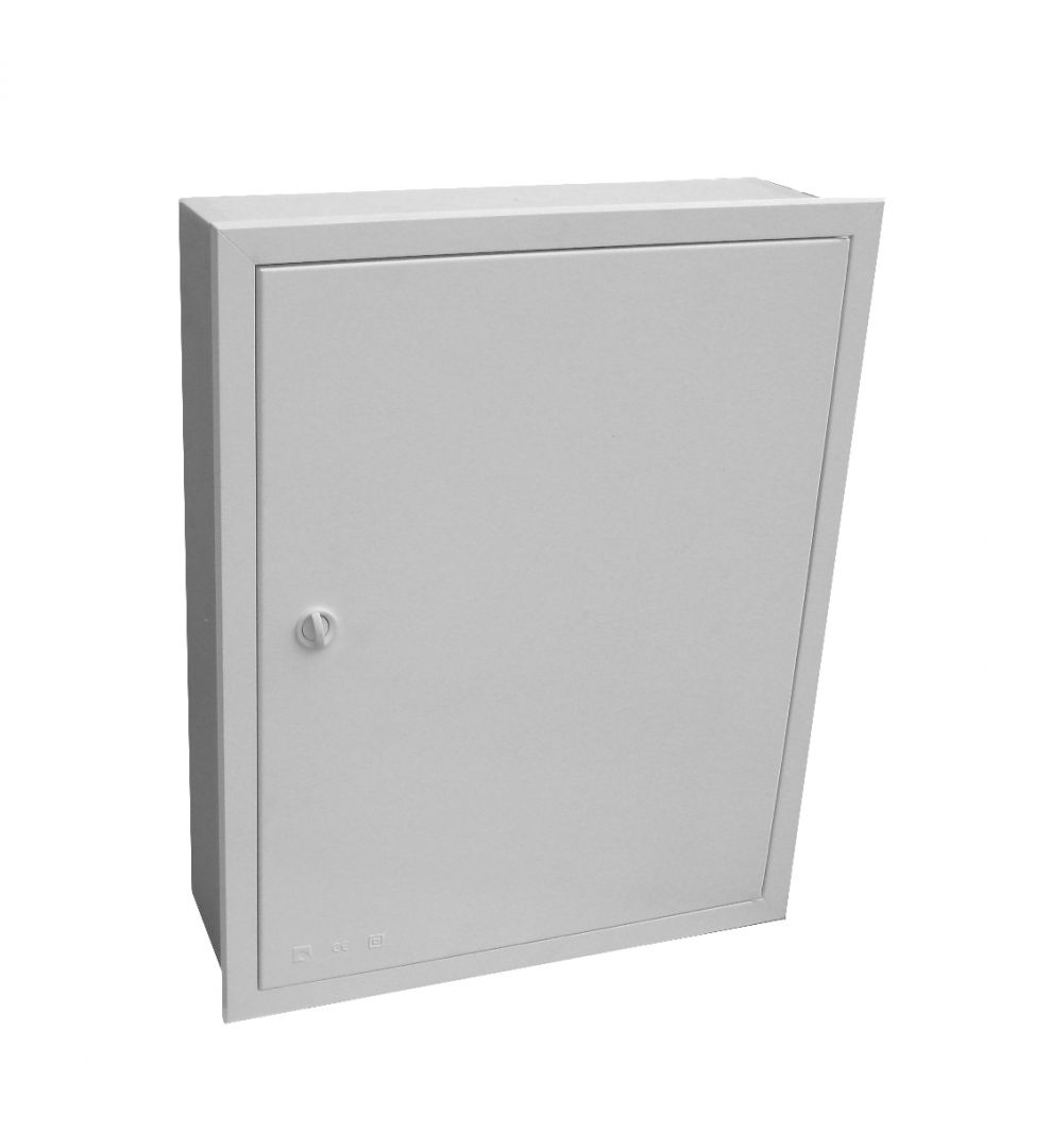 EMPTY BUILT-IN VISBOX BOX WITH DOOR AND FRAME 400X380X130