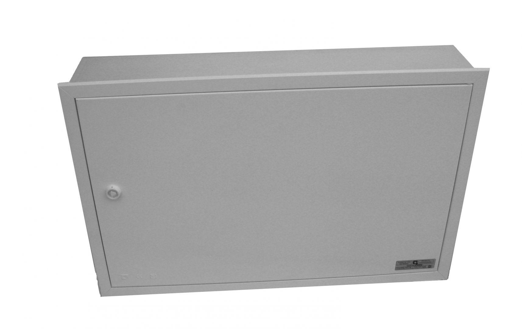 ENVELOPE VISBOX VIDE A ENCASTRER AVEC PORTE 500X320X130